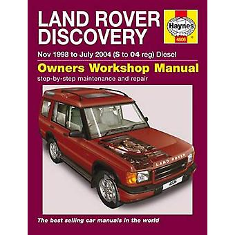 Land Rover Discovery Service and Repair Manual - 9780857339515 Book