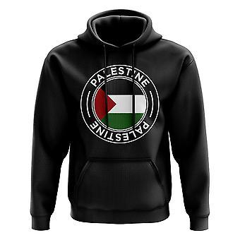Medalla de fútbol de Palestina (negro)