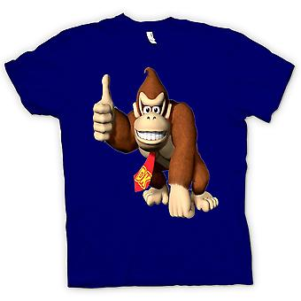 Womens T-shirt-Donkey Kong Gamer