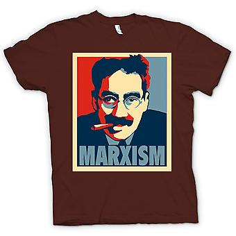 Mens T-shirt - Marxism Groucho Marx - Communism
