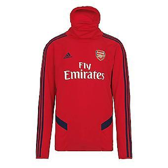 2019-2020 Arsenal Adidas Warm Top (Red) - Kids