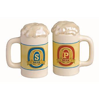 Bier Stein zout en peper shaker set grasslands Road