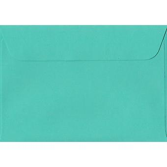Emerald Green Peel/tätning C6/A6 färgade gröna kuvert. 100gsm schweiziska Premium FSC-papper. 114 mm x 162 mm. plånbok stil kuvert.