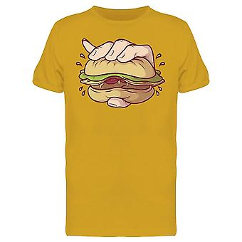 Crushing Burger Tee Men's -Image by Shutterstock