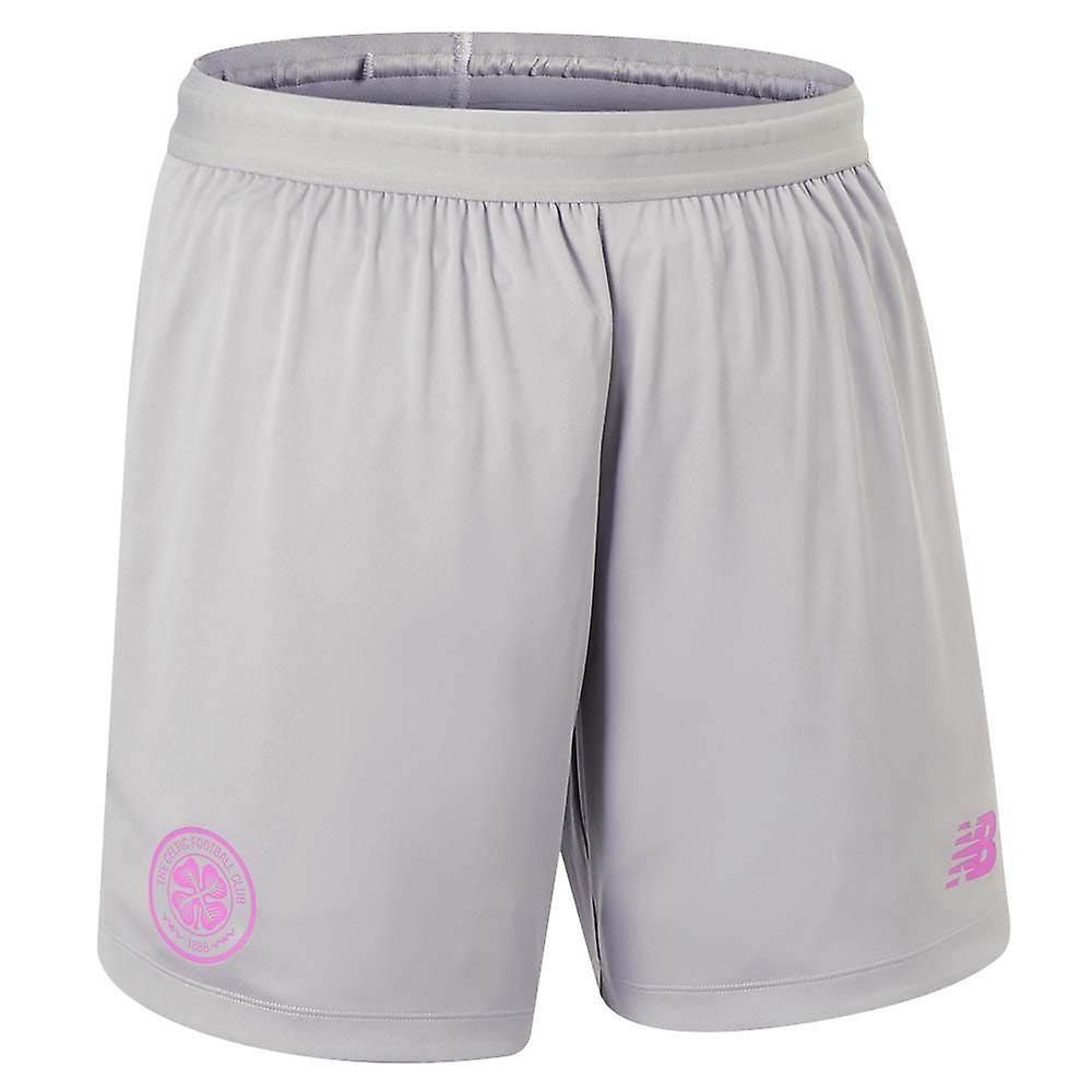2019-2020 Celtic Third Shorts (Grey)