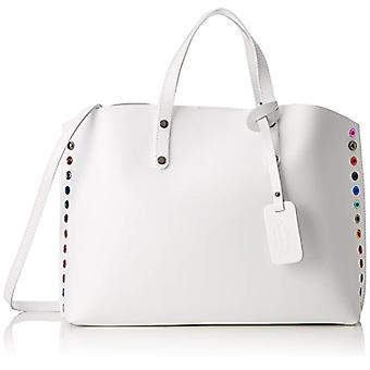 Chicca tassen 8678 witte vrouwen schoudertas 46x30x13 cm (b x H x L)
