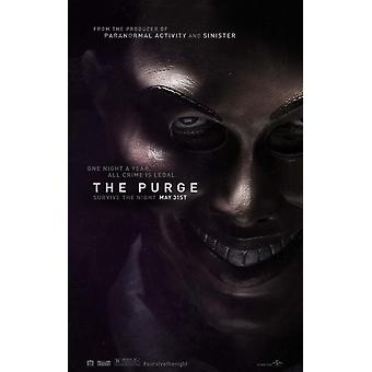 The Purge Poster Double Sided Advance (2013) Original Cinema Poster