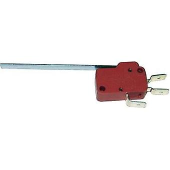 Microswitch 250 Vac 10 A 1 x On/(On) Marquardt 1006.1301 momentary 1 pc(s)