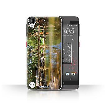 STUFF4 Case/Cover for HTC Desire 530/Footbridge/Thailand Scenery