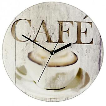 Wenko wall clock ø 27 cm café (Decoration , Clocks)