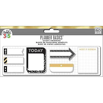Create 365 Happy Planner Sticky Notes 140/Pkg-Gold POSB01