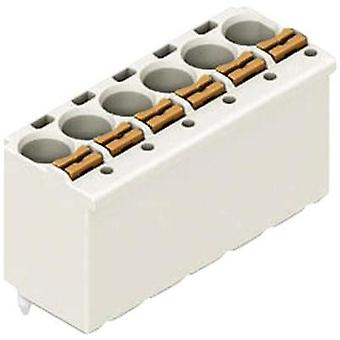 Receptacles (standard) 2091 Total number of pins 10 WAGO 2091-1180 Contact spacing: 3.50 mm 1 pc(s)