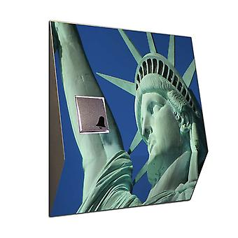 Wireless statue of liberty on the doorbell door bell doorbell chime