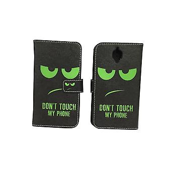 Cell phone cover case for mobile OnePlus 3 / three dont touch my phone Green