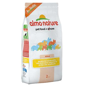 Almo Nature Holistic Cat Kitten Chicken & Rice 2kg