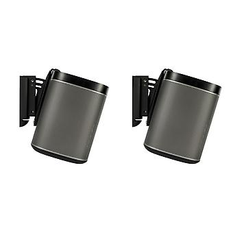 FLEXSON wall mount for SONOS PLAY1-Black Couple