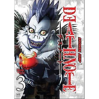 Death Note: Vol. 3 [DVD] USA importerer