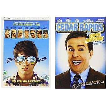 Cedar Rapids/Way Way Back [DVD] USA import