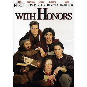 With Honors [DVD] USA import