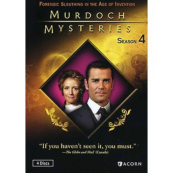 Murdoch Mysteries: Season 4 [DVD] USA import