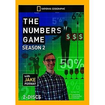 Numbers Game: Season 2 [DVD] USA import