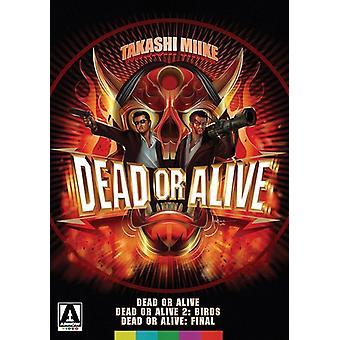 Døde eller levende trilogi [DVD] USA import