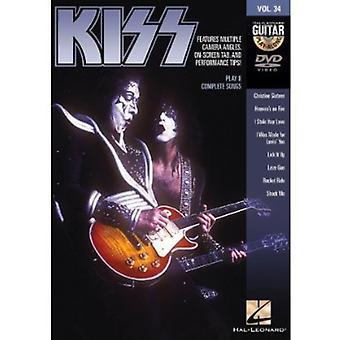 Vol. 34-Kiss [DVD] USA importerer