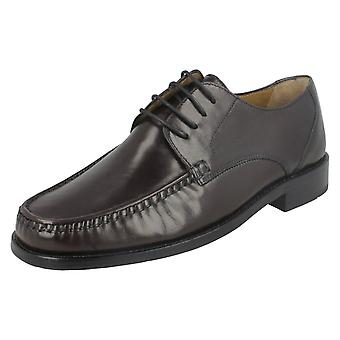 Mens Loake Formal Moccasin Shoes Lugano