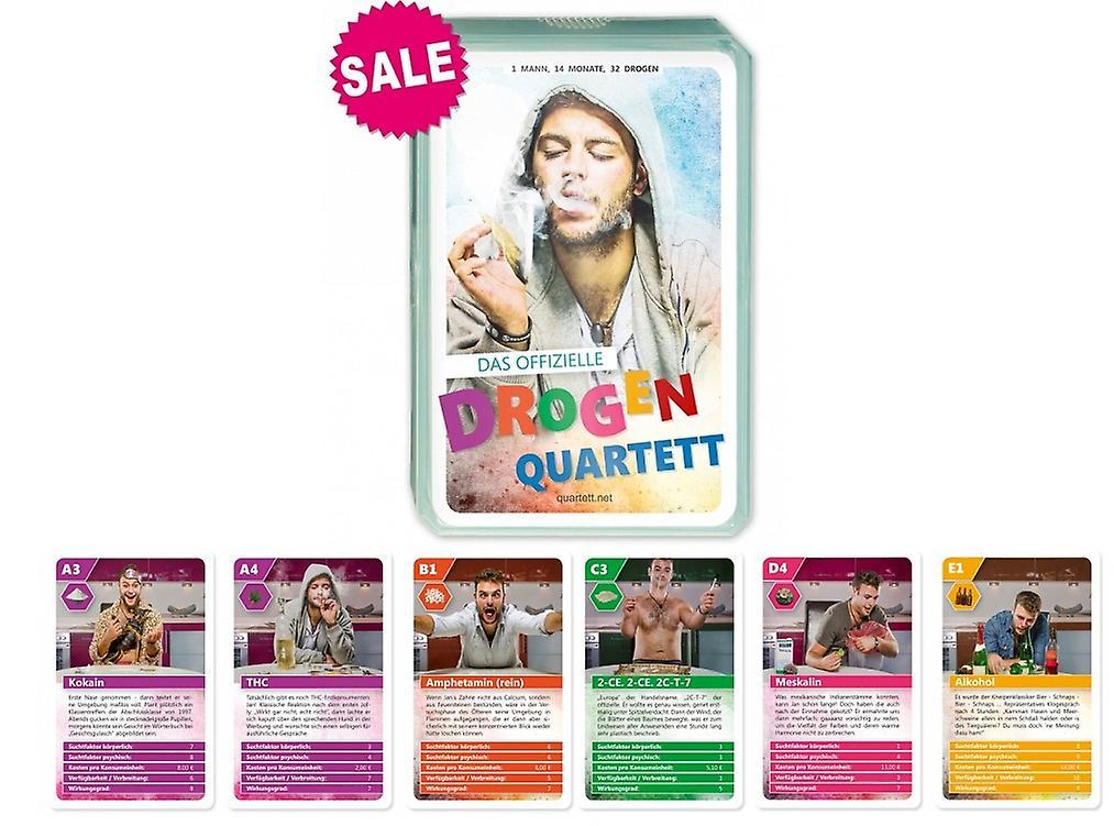 Drogenquartett Neu Drogen Quartett Selbstversuch Kartenspiel