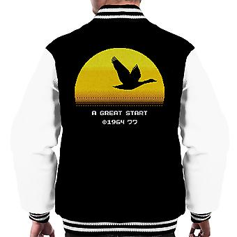 A Great Way Men's Varsity Jacket