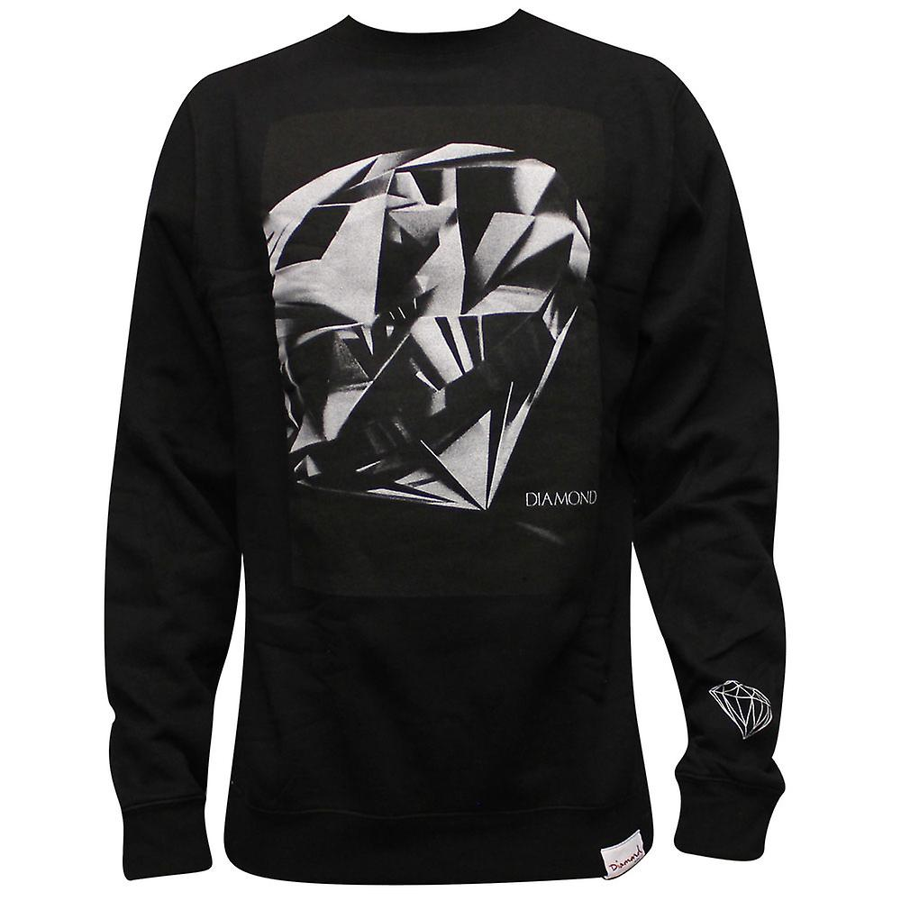 Diamond Supply Co Diamond Cut Sweatshirt Black