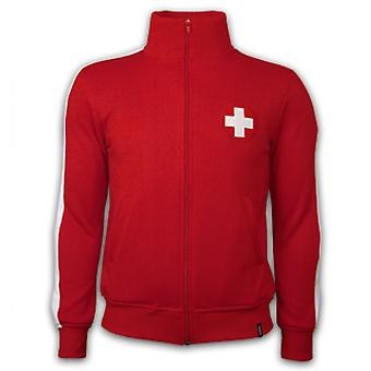 Switzerland 1960\'s Retro Jacket polyester / cotton