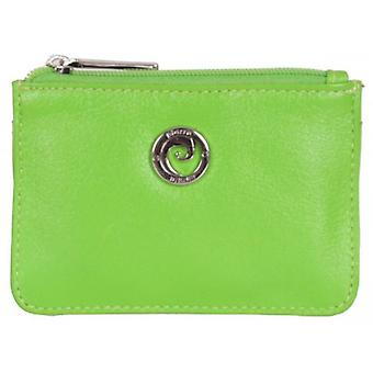 Pierre Cardin Zip Top Coin Purse - Light Green