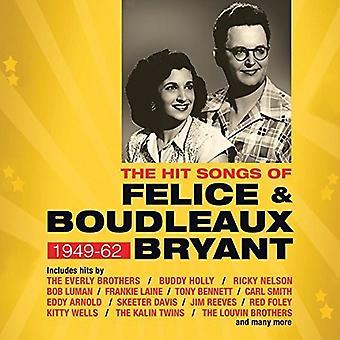 Canciones de Felice y Boudleaux Bryant del golpe:-golpear canciones de Felice y Boudleaux Bryant: importación de Estados Unidos [CD]