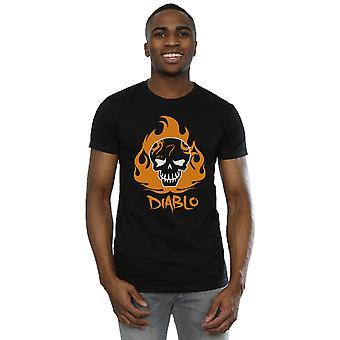 Suicide Squad Men's El Diablo Icon T-Shirt