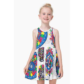 Desigual colorful girls sleeveless dress vest Yaundé