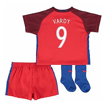 2016-17 England Away Baby Kit (Vardy 9)