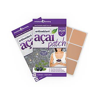 Acai Berry Patch with Green Tea - 60 Patches - Weight Loss Patch - Evolution Slimming