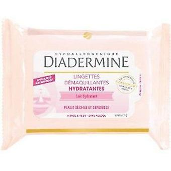 Diadermine Towelettes (25) Dry-Sensitive (Cosmetics , Facial , Facial cleansers)