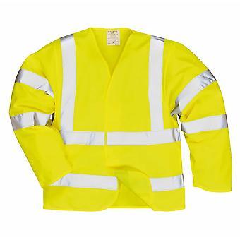 sUw - Hi-Vis Workwear Anti statische Sicherheitsweste - schwer entflammbar