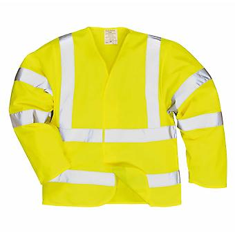 sUw - Hi-Vis Safety Workwear Anti Static Jacket - Flame Resistant