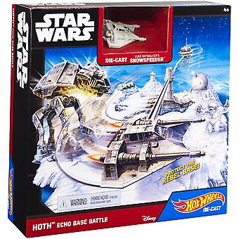 Hot Wheels Star Wars Hoth Echo Base Battle spela set