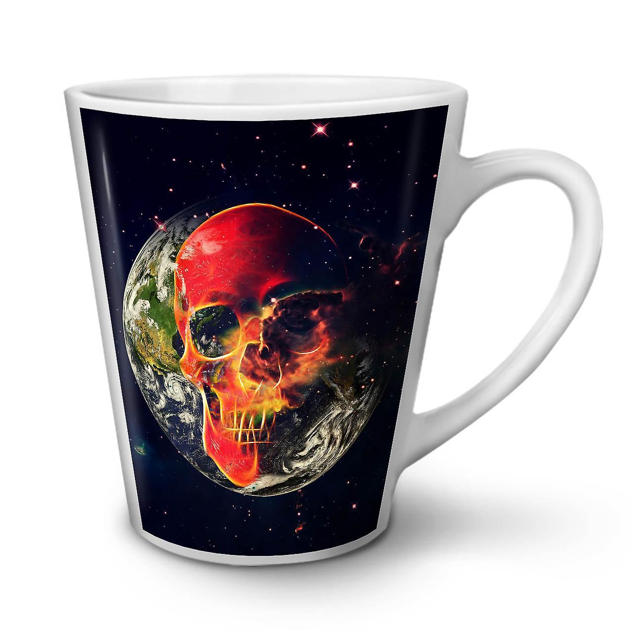 Nouvelle Blanche En De Café Planète Latte Crâne OzWellcoda 12 Tasse Terre Céramique 08XNnOkwP