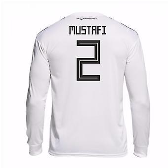 2018-19 Tyskland hjem langermet skjorte (Mustafi 2)