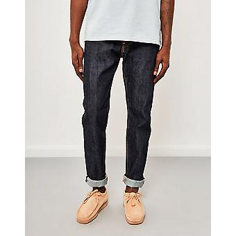 Edwin ED-80  Slim Tapered  Red Listed Selvedge Jeans  Unwashed