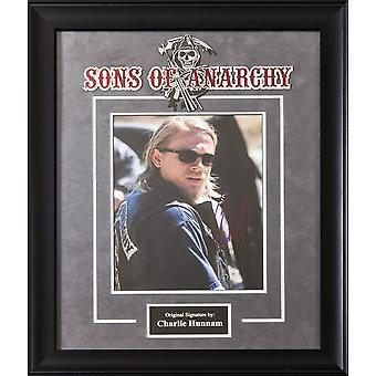 Sons of Anarchy - Signed by Charlie Hunnam Framed Artist Series