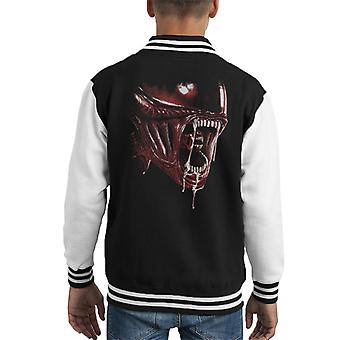 Alien Lurking Since 79 Red Kid's Varsity Jacket