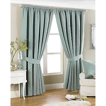 Riva Home Devere Pencil Pleat Curtains