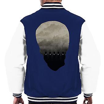 Doctor Who The Silence Men's Varsity Jacket