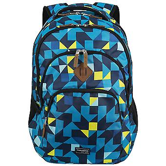 Travelite basics backpack with laptop sleeve school backpack daypack
